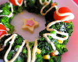 Broccoli Christmas Tree and Wreath recipe step 6 photo