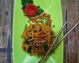 Mie Gomak (Mie Goreng Mamak) Malaysia langkah memasak 5 foto