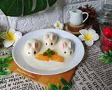Puding Kelinci langkah memasak 4 foto