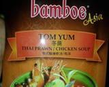 Tom Yum bumbu instan langkah memasak 6 foto