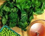 Asian Spring Greens with Peas recipe step 2 photo