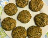 Pan Fried and Baked Fenugreek Seeds Tikki recipe step 2 photo