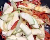 Smażony ryż z wędzonym tofu i warzywami 🌱 krok przepisu 3 zdjęcie