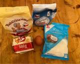 Bánh quy bơ dừa bước làm 1 hình