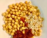Pasta z ciecierzycy i suszonych pomidorów 🌱 krok przepisu 1 zdjęcie