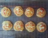 Pizza Mini EMPUK Proofing 1 Kali No Ulen No Telur langkah memasak 16 foto