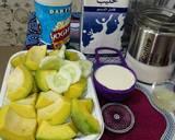 Avocado & cucumber smoothie