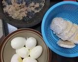 Semur telur dan Tempe langkah memasak 1 foto