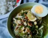 Soto Ayam Segerrr langkah memasak 9 foto