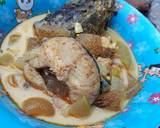 Sayur Lodeh Kaldu Ikan Gabus langkah memasak 4 foto