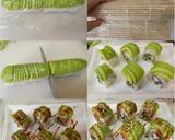 Teriyaki Chicken Sushi Roll langkah memasak 7 foto