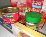 Spaghetti Bolognese langkah memasak 1 foto