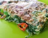 Spinach Omelet (Telur Dadar Bayam) langkah memasak 7 foto