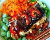 Teriyaki Glazed Salmon Donburi