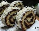 Bolgul kukus moca coklat (1 telur) langkah memasak 8 foto