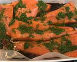 Roasted Salmon with Dill & Maple Syrup