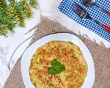 Dadar Telur Gobal Gabul langkah memasak 3 foto
