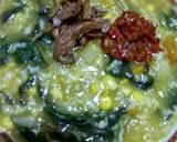 Bubur Manado langkah memasak 5 foto