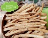 522. Celery Cheese Stick Krispi #SeninSemangat langkah memasak 14 foto