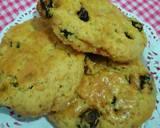 Raisin american scone langkah memasak 7 foto