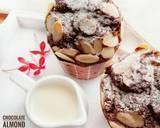 Muffin Coklat Tabur Almond No BP/BS (#postingrame2_muffin) langkah memasak 5 foto