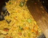 Spicy vegetable rice with egg and sausage recipe step 10 photo