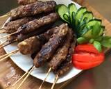 Beef Satay (Sate daging sapi giling/halus) langkah memasak 3 foto