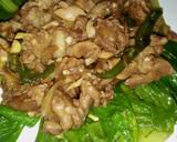 Pokcoy siram daging dan jamur kancing teriyaki langkah memasak 8 foto