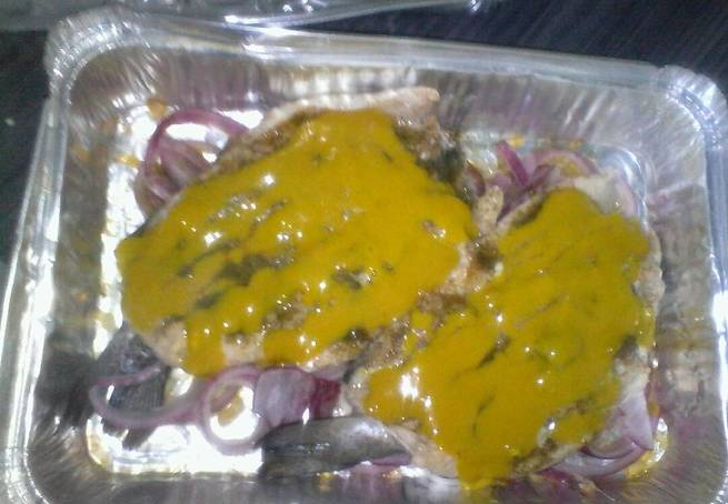 4 Trucha Al Horno Con Salsa De Mostaza Dulce