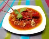 Lobster lada hitam instan langkah memasak 4 foto