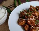 Dakgangjeong (Ayam Goreng Krispi Saus Madu ala Korea)#kamismanis langkah memasak 8 foto