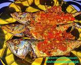 Ikan kembung goreng sambal asam langkah memasak 12 foto