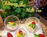 Cheese cake Milk Tea langkah memasak 9 foto