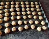 Barazek (Kue Kering Wijen) langkah memasak 4 foto