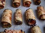 6 вкусных способов приготовить рулетики из баклажанов - 15 фото