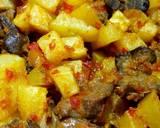 Sambal goreng kentang ati langkah memasak 5 foto