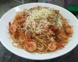 Spaghetti goreng udang (#pr_Pasta) langkah memasak 4 foto