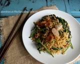 Mie Goreng Kangkung Belacan langkah memasak 6 foto