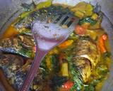 Ikan Mas Kuah Kuning langkah memasak 5 foto