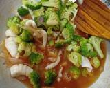 Brokoli Cumi Asam Manis langkah memasak 3 foto