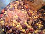 Chilis bab, gluténmentes lángossal recept lépés 6 foto