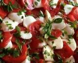Tomato mozzarella salad recipe step 1 photo