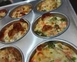Egg Muffins (bisa buat MPASI) langkah memasak 4 foto