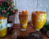 #Korean Fresh Mango Milk langkah memasak 3 foto