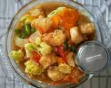 Gindara Vegetable Oyster Souce langkah memasak 3 foto