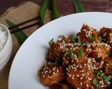 Dakgangjeong (Ayam Goreng Krispi Saus Madu ala Korea)#kamismanis langkah memasak 10 foto