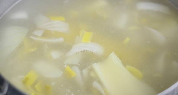 6 Sopa De Verduras Y Quinoa