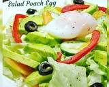 Salad Poach Egg langkah memasak 1 foto