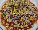 Spicy Tuna Pizza langkah memasak 6 foto