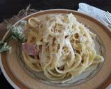 Fettuccine Carbonara ala sayah #pr_pasta langkah memasak 5 foto